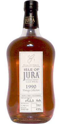 Isle of Jura 1990 Vintage Collection im Test