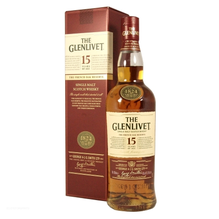 The Glenlivet 15 Jahre French Oak 0,7l