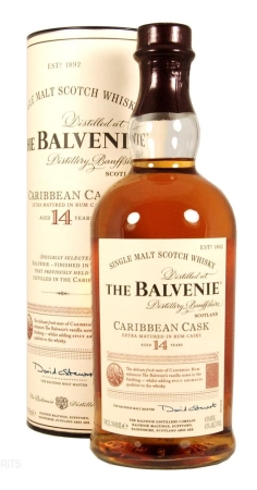 The Balvenie 14 Jahre Carribbean Rum Casks 0,7l