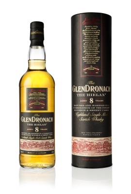 GlenDronach 8YO The Hielan' - Bottle beside LR