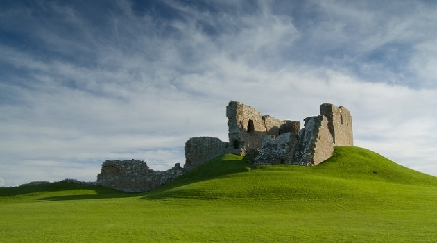 Bild: Duffus Castle/ Quelle: Karl Normington/flickR