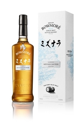 Bowmore Mizunara bottle2