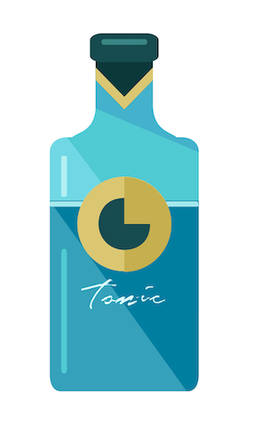 Tonic-Flasche
