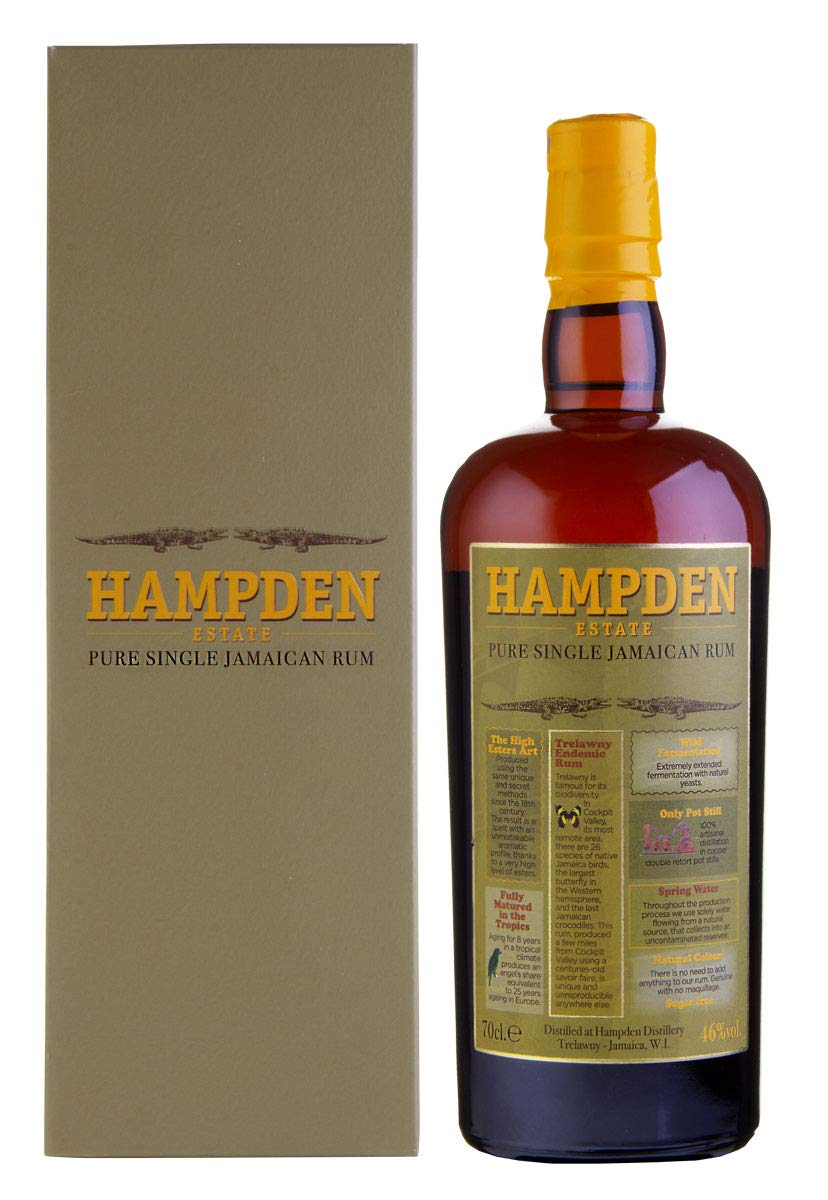 Hampden Estate Jamaica Rum